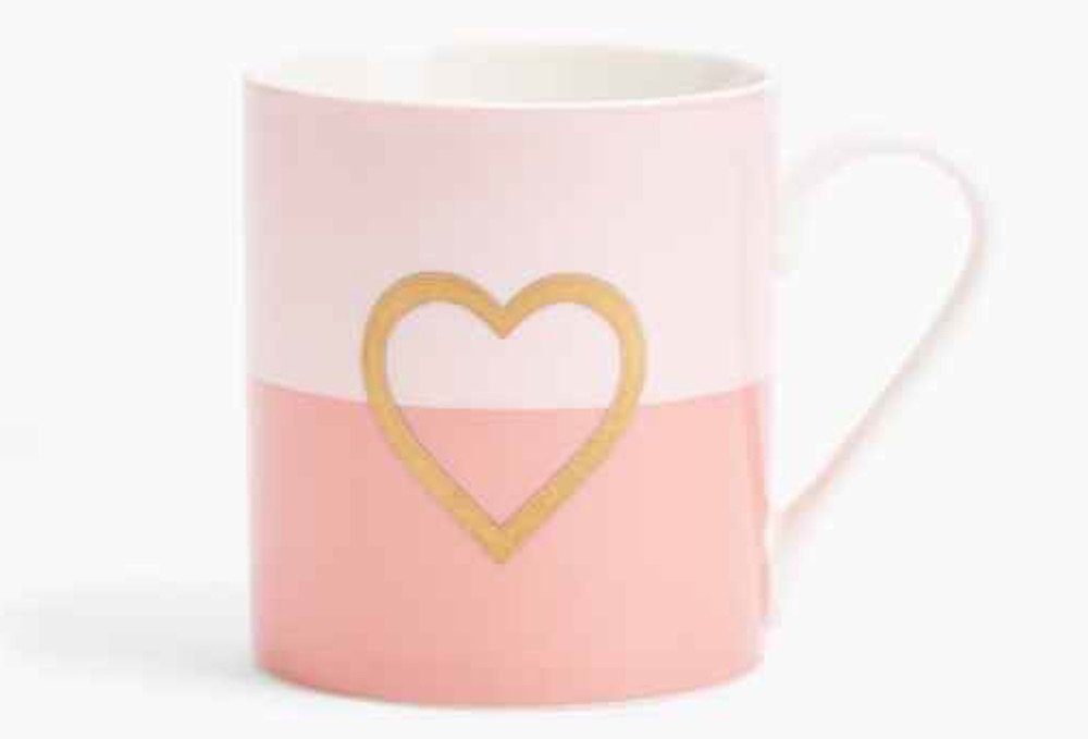 M&S best Mother's Day gifts heart logo mug