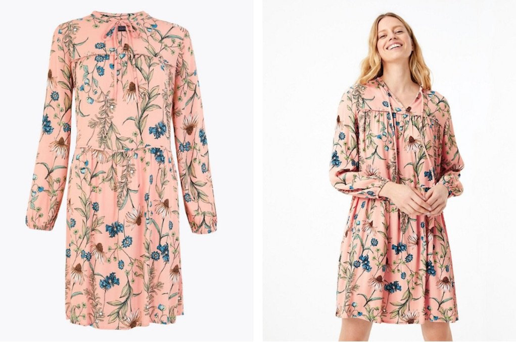 M&S floral print dress best mother's day gifts
