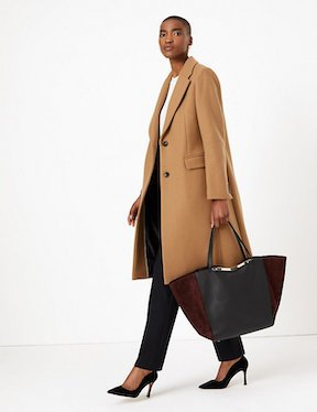 M&S leather tote bag best Mother's day gifts