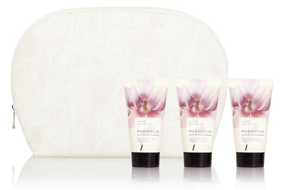 Magnolia travel gift set M&S best Mother's Day Gifts