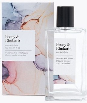 Peony and rhubarb fragrance from M&S best mother's day gifts