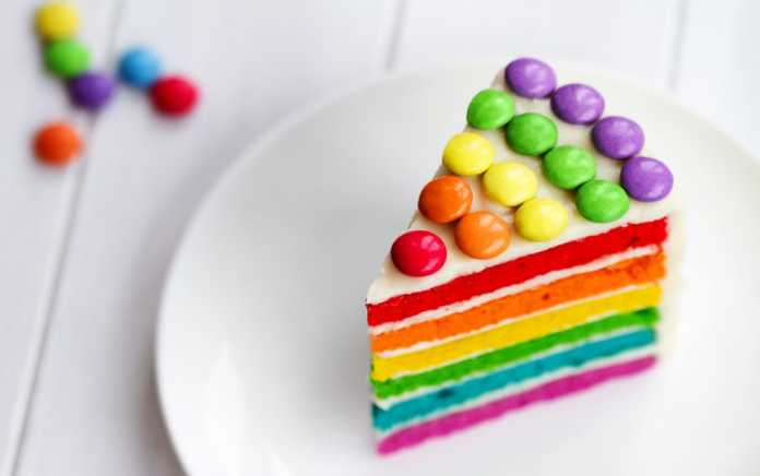 Rainbow desserts and treats