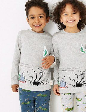 Roald Dahl clothing range from M&S spider t-shirt