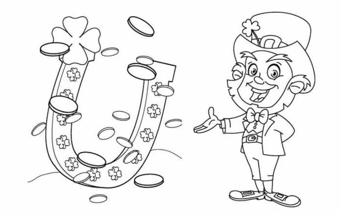 19 St Patrick's Day colouring pages and printables - Mykidstime