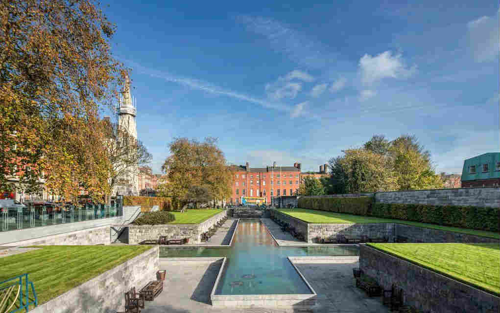 The Garden of Remembrance, Dublin