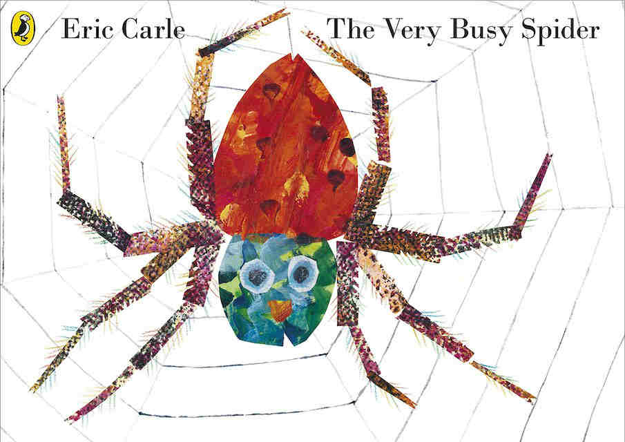 Eric Carle books The Very Busy Spider