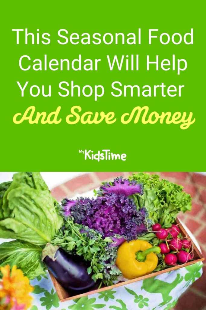 This Seasonal Food Calendar Will Help You Shop Smarter And Save Money