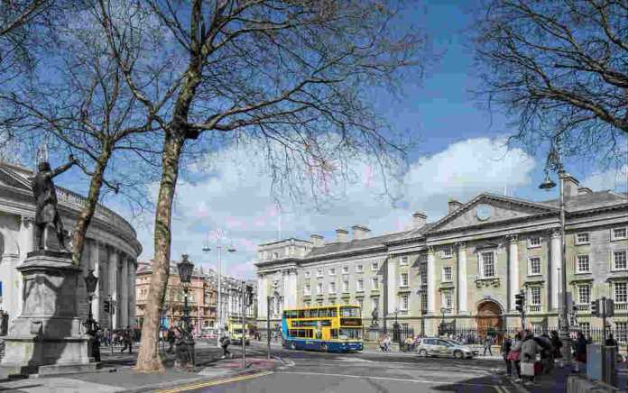 Trinity College Dublin for free things to do in Dublin