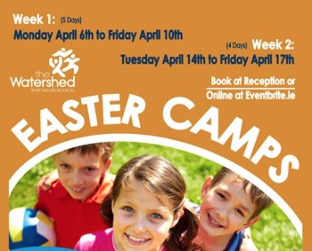 Watershed Kilkenny Easter Camps 2020
