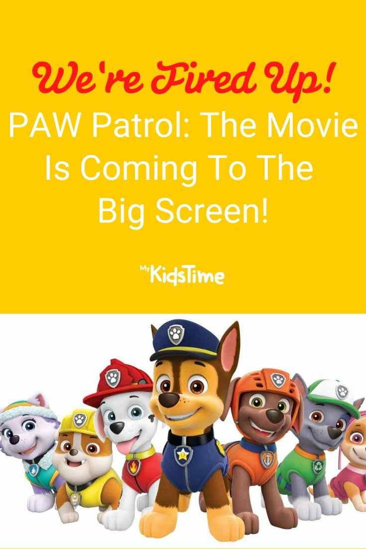 paw patrol the movie