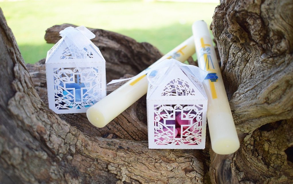 candle things for first Communion day