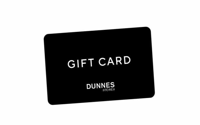 Dunnes Stores gift card