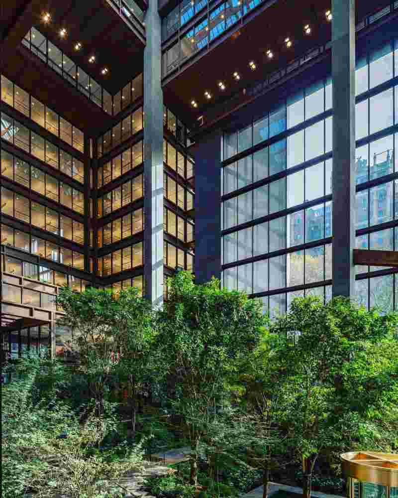 ford foundation atrium garden