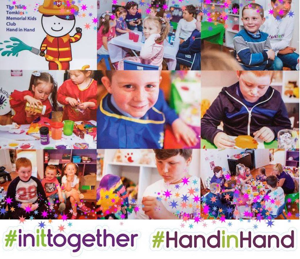 Hand in Hand support for families in Ireland affected by childhood cancer