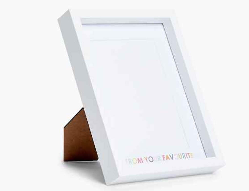love from your favourite photo frame M&S Best mother's day gifts from M&S