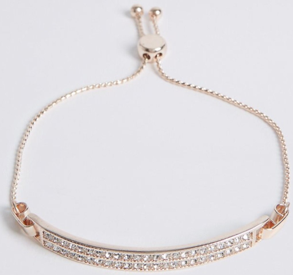 pave toggle bracelet best mother's day gifts from M&S