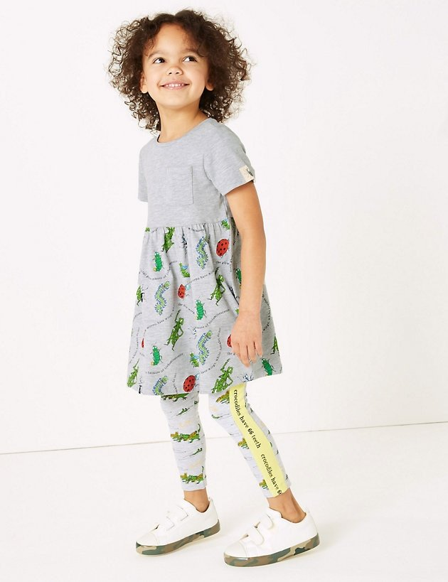 Roald Dahl clothing range from M&S Bug Dress