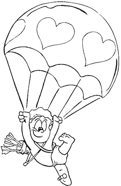 Valentines colouring pages