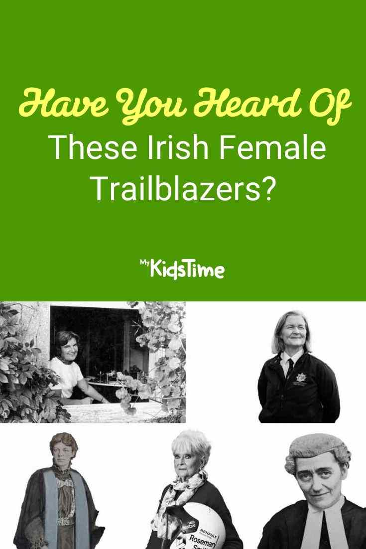 Have You Heard Of These Irish Female Trailblazers pinterest