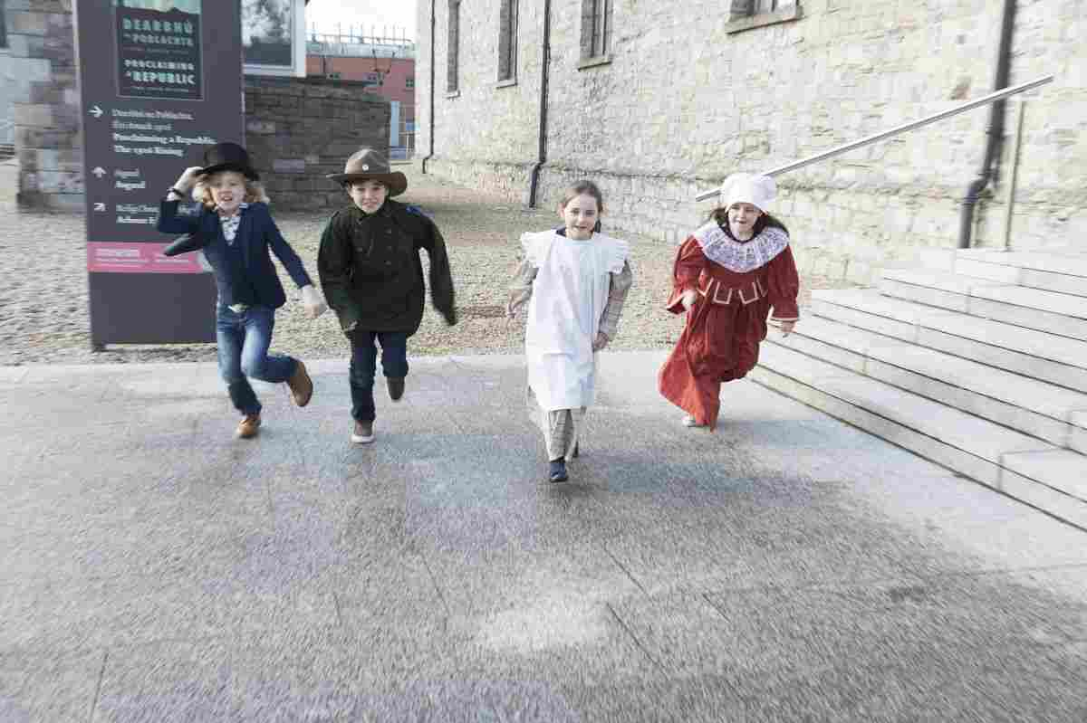 Kids at NMI Collins Barracks