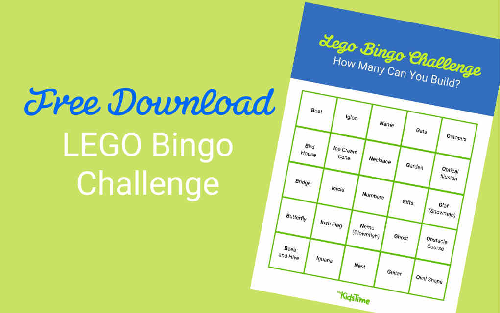 Take The LEGO Bingo Challenge With Our FREE Download