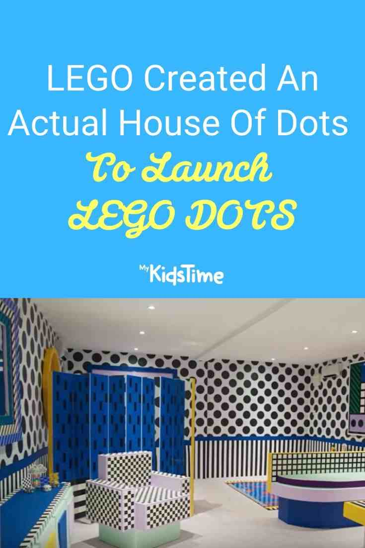 LEGO Created An Actual House Of Dots To Launch LEGO DOTS