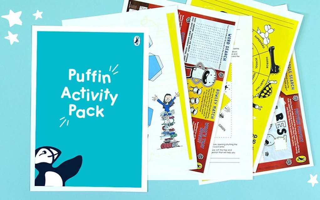 Puffin activity pack