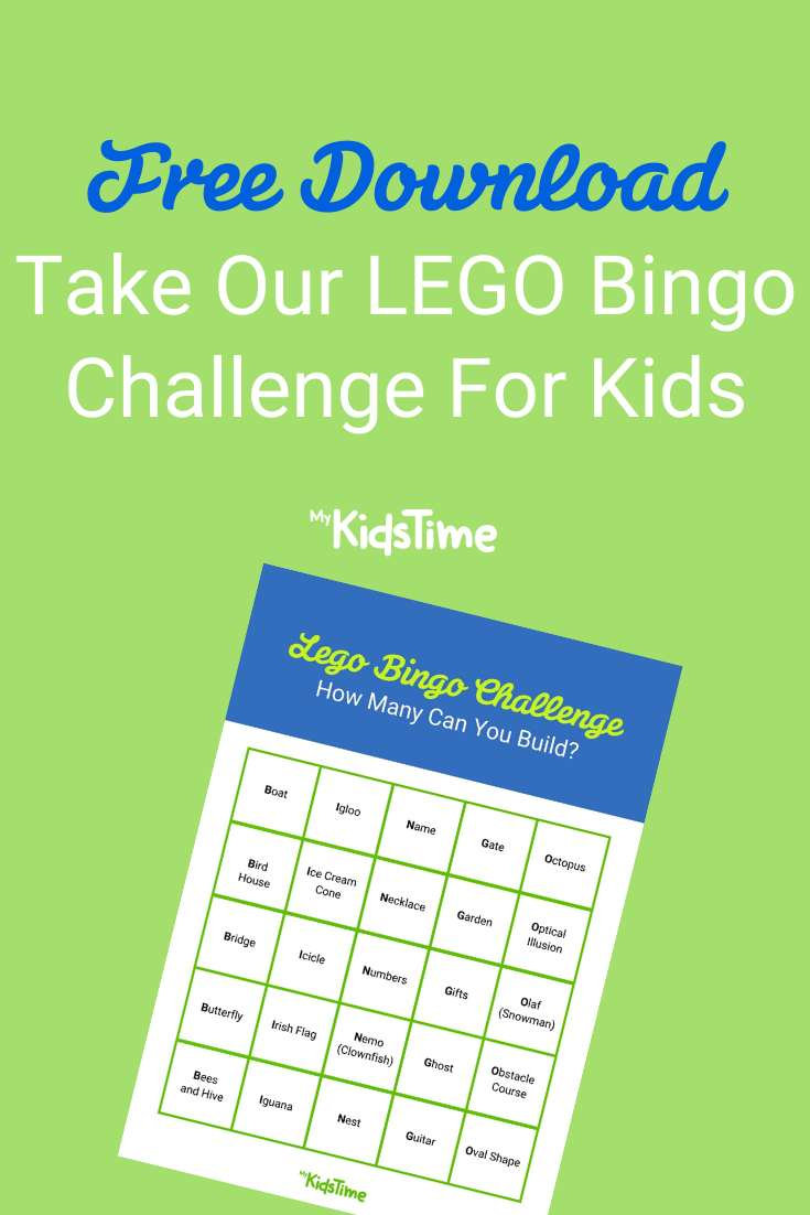 Take Our LEGO Bingo Challenge With Free Download - Mykidstime