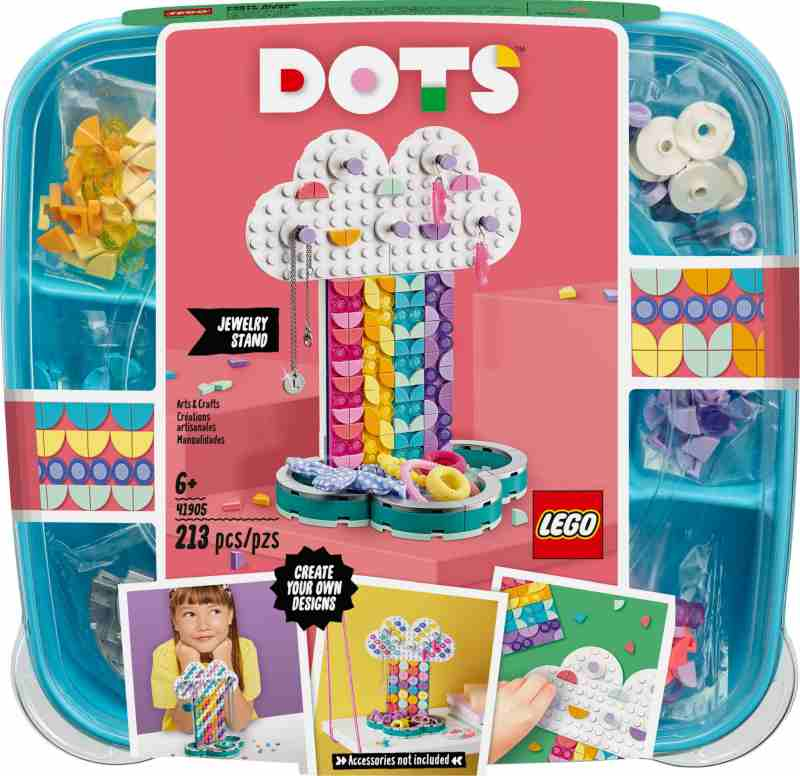 lego dots jewelry stand