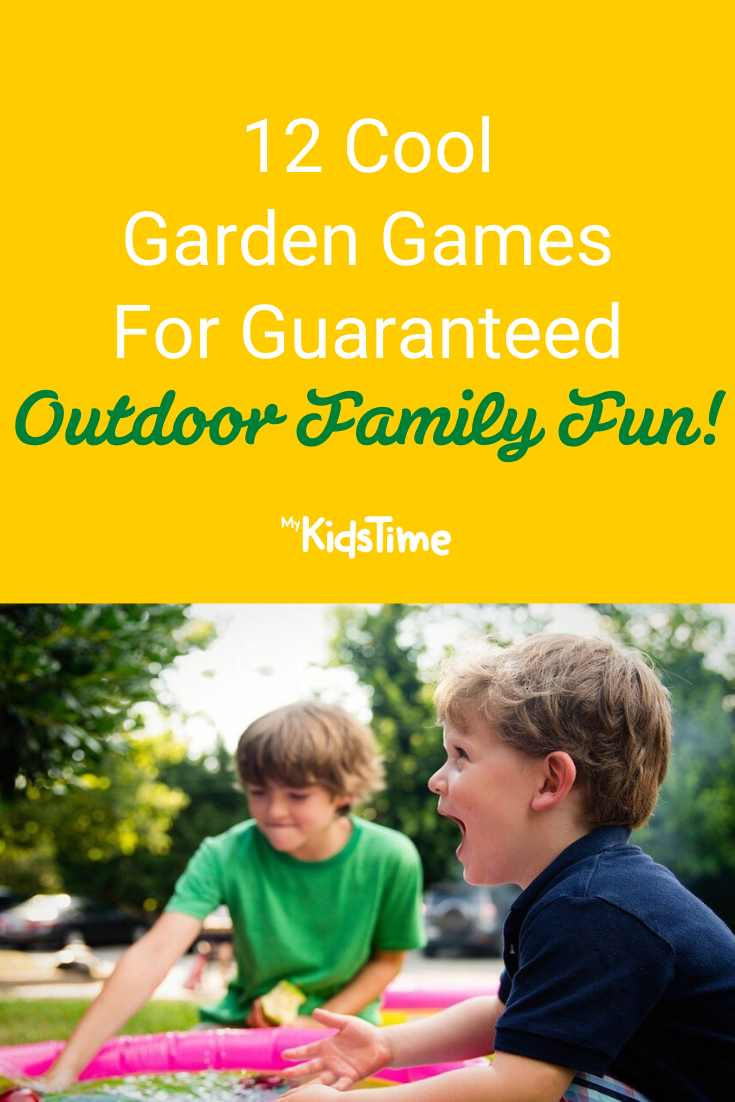 12 Cool Garden Games for Guaranteed Outdoor Family Fun! - Mykidstime