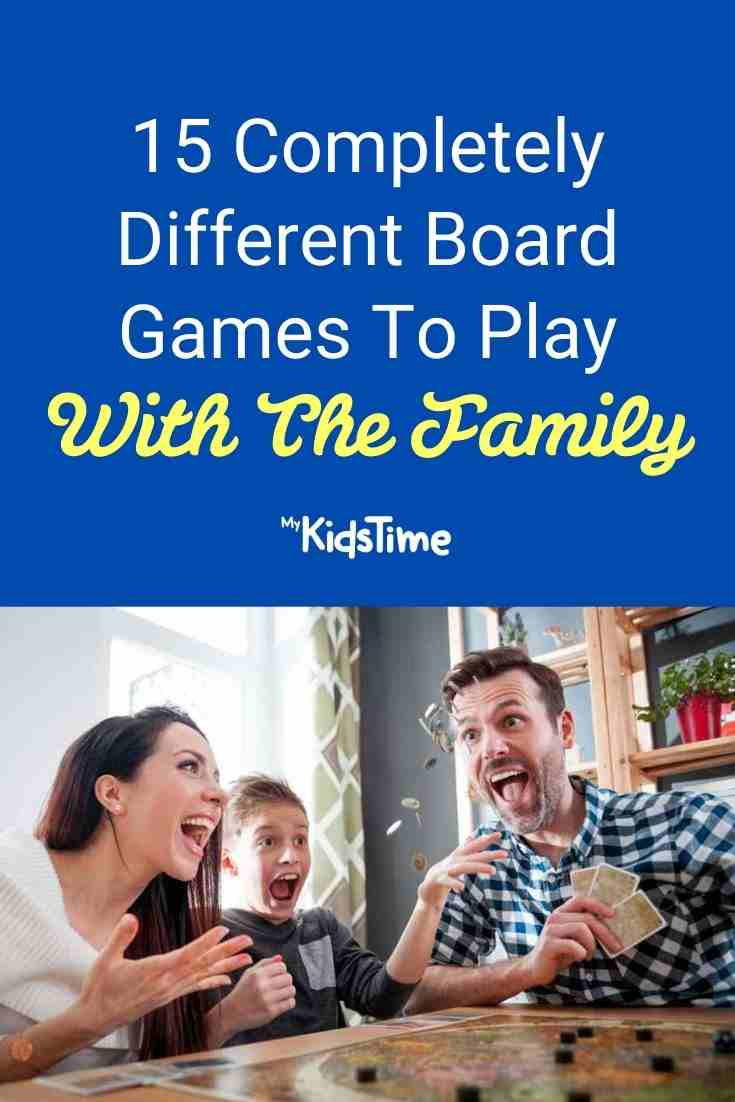 15 Completely Different Board Games To Play With The Family