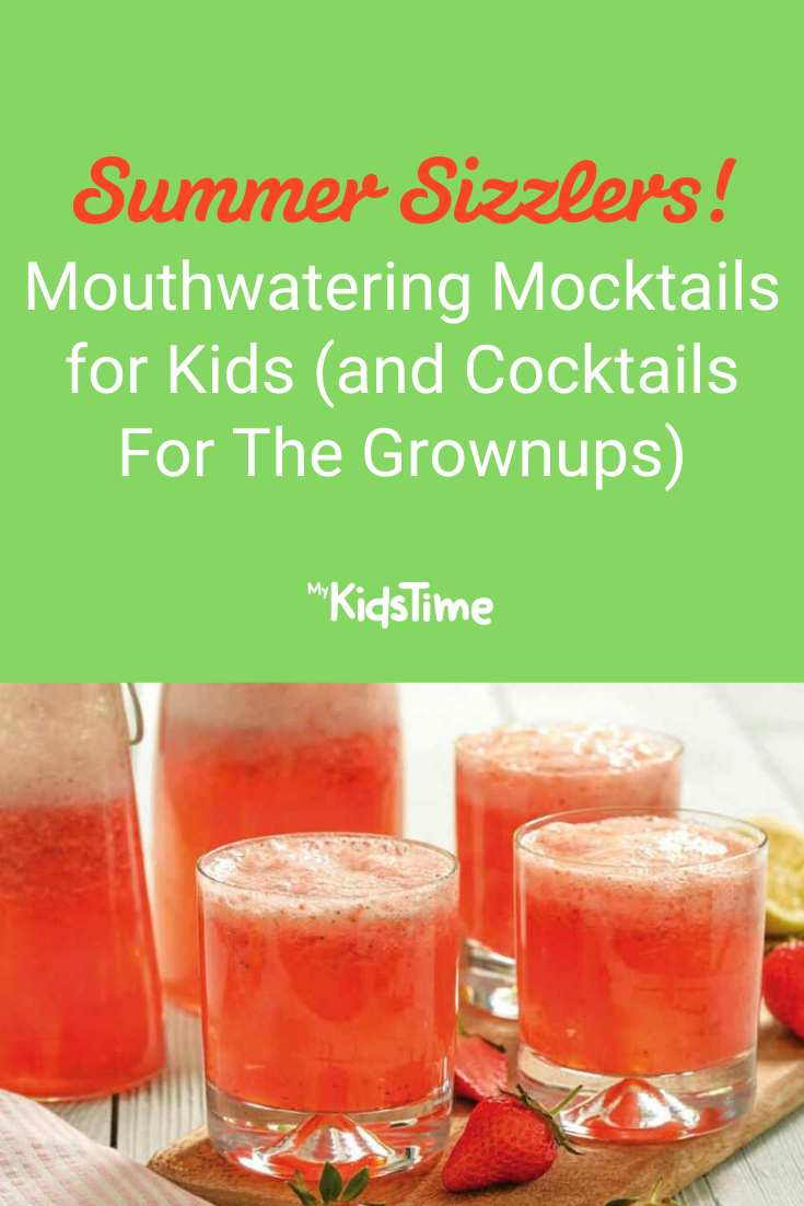 2 Mouthwatering Mocktails Kids Will Love (+ Cocktails For The Grownups)