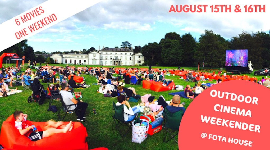 Whats On Fota House Pop up movie club august 2020