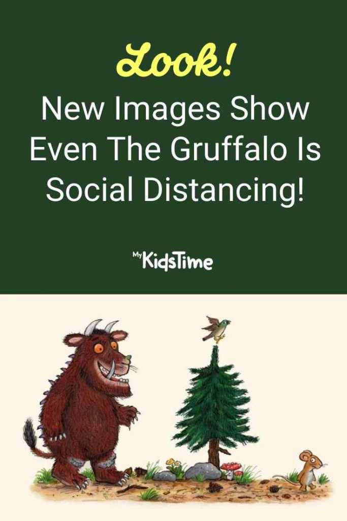 Look! New Images Show Even The Gruffalo Is Social Distancing!
