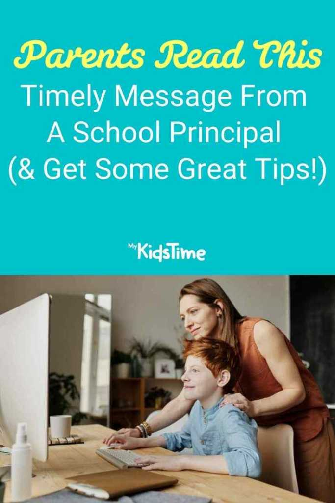 message from a school principal