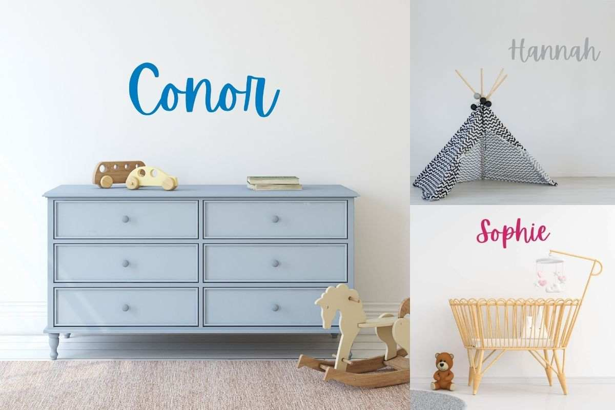 Wall Stickers for Kids Personalised