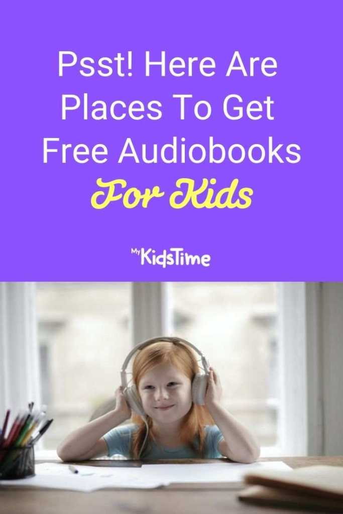 Psst! Here Are Places To Get Free Audiobooks For Kids