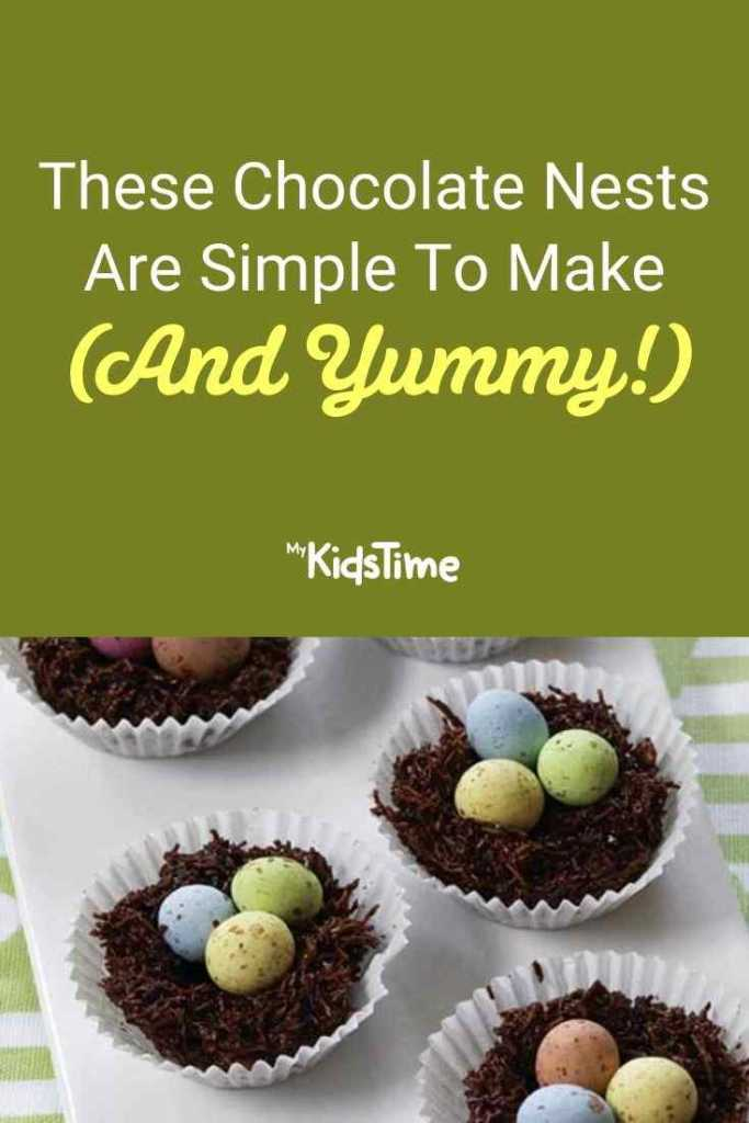 These Chocolate Nests Are Simple To Make (And Yummy!)