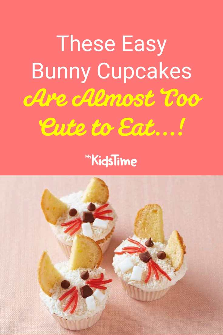 These Easy Bunny Cupcakes Are (Almost!) Too Cute to Eat - Mykidstime