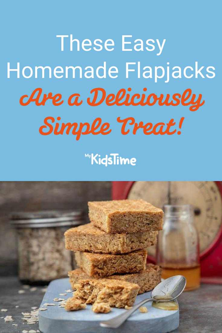 These Easy Homeschool Flapjacks Are a Deliciously Simple Treat - Mykidstime