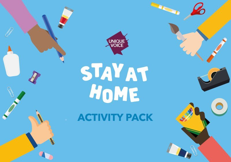 Unique Voice Stay At Home Activities