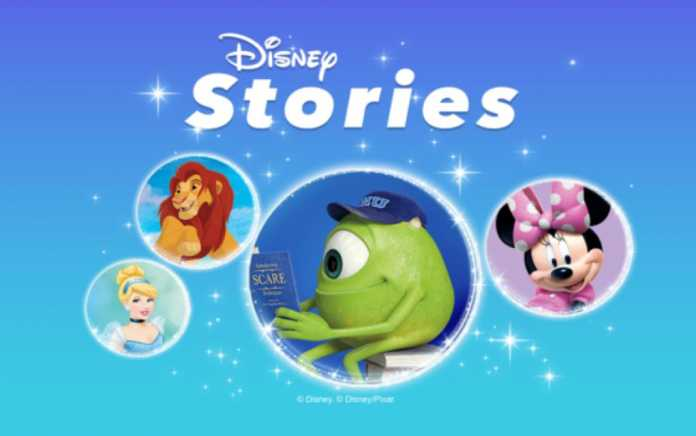 alexa disney stories