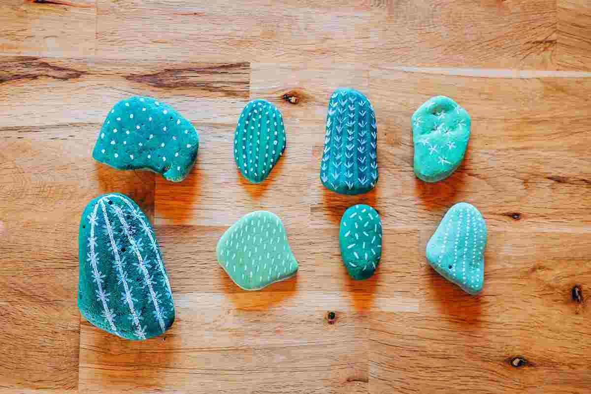 pebble craft project for kids