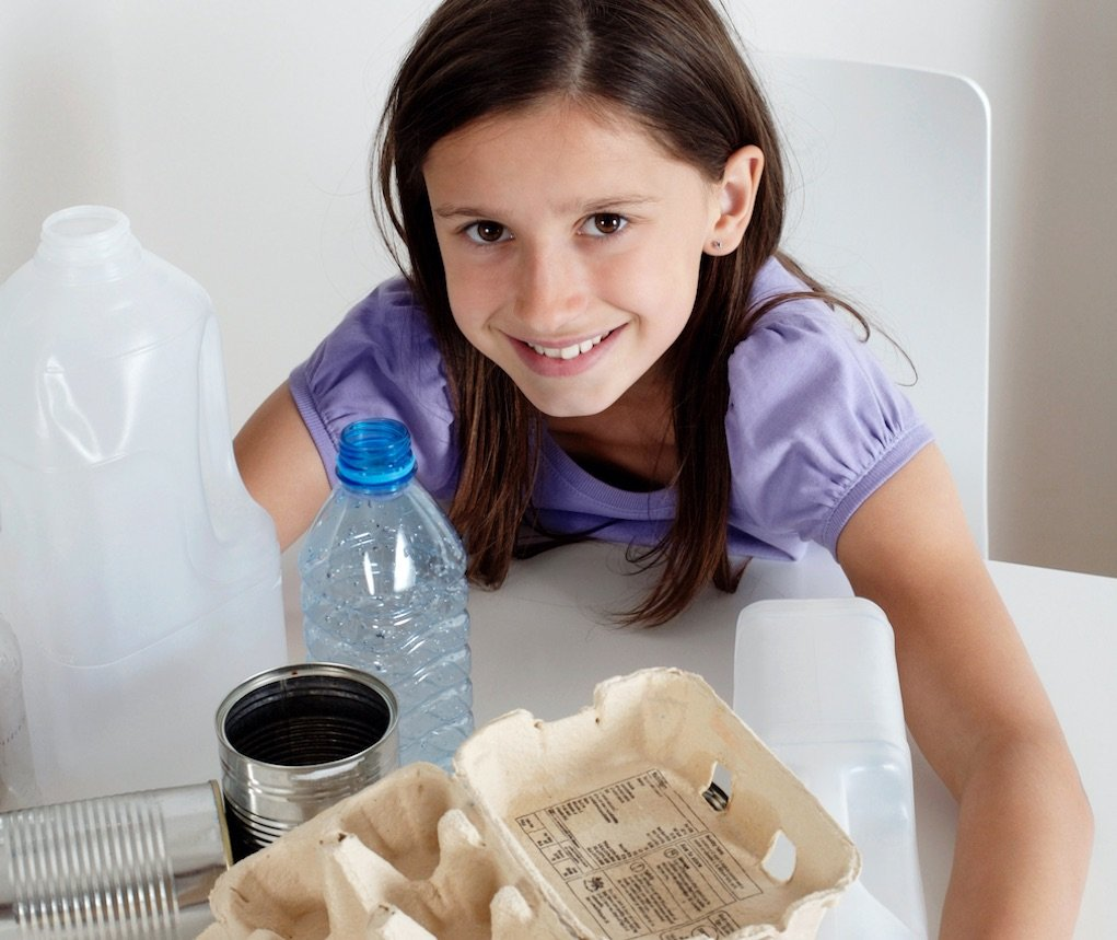 teach kids about sustainability recycle
