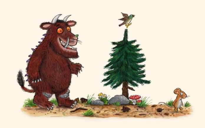 the gruffalo is social distancing