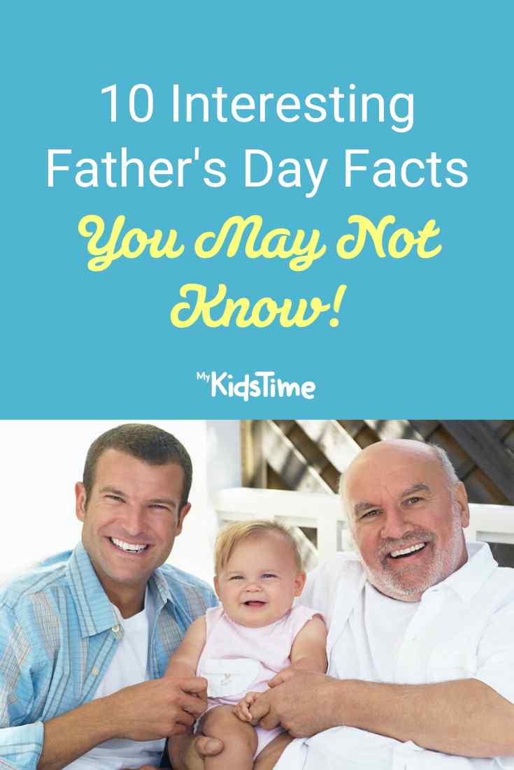 10 Fun Father's Day Facts You May Not Know - Mykidstime