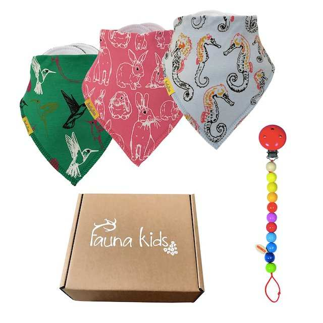 Fauna Kids Babyboo bibs for Mykidstime recommends