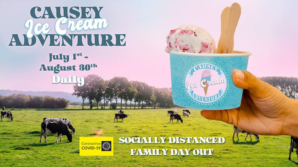 Ice Cream Adventure at Causey Farm Safe places to visit