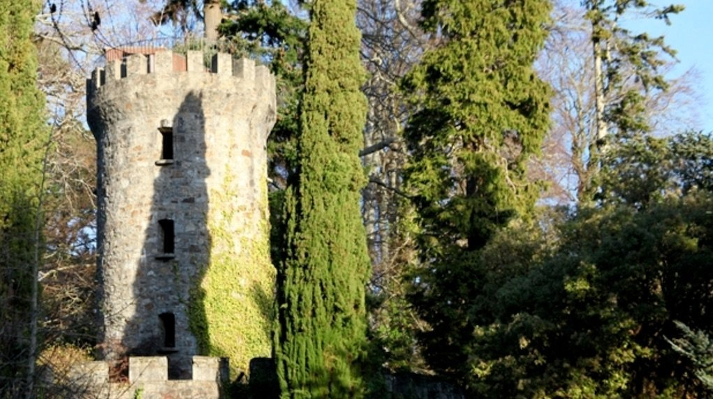 Pepperpot tower at Powerscourt. Things to do with kids in Wicklow