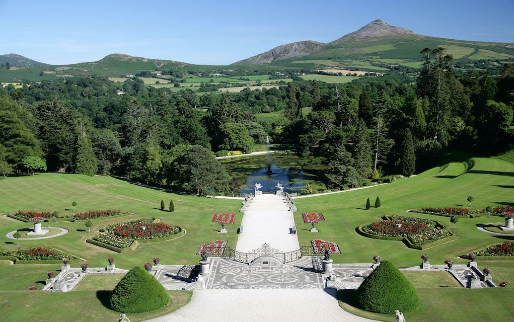 safe places to visit - Powerscourt Estate Italian Garden